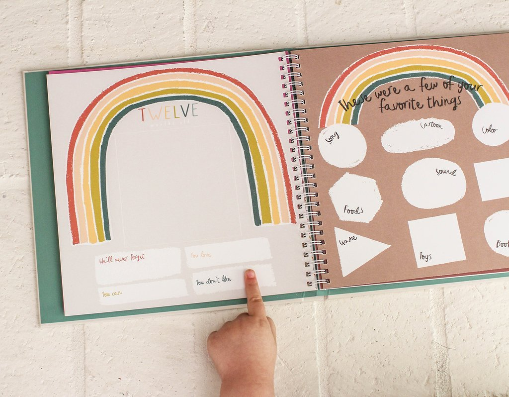 Little Rainbow Memory Book by Lucy Darling