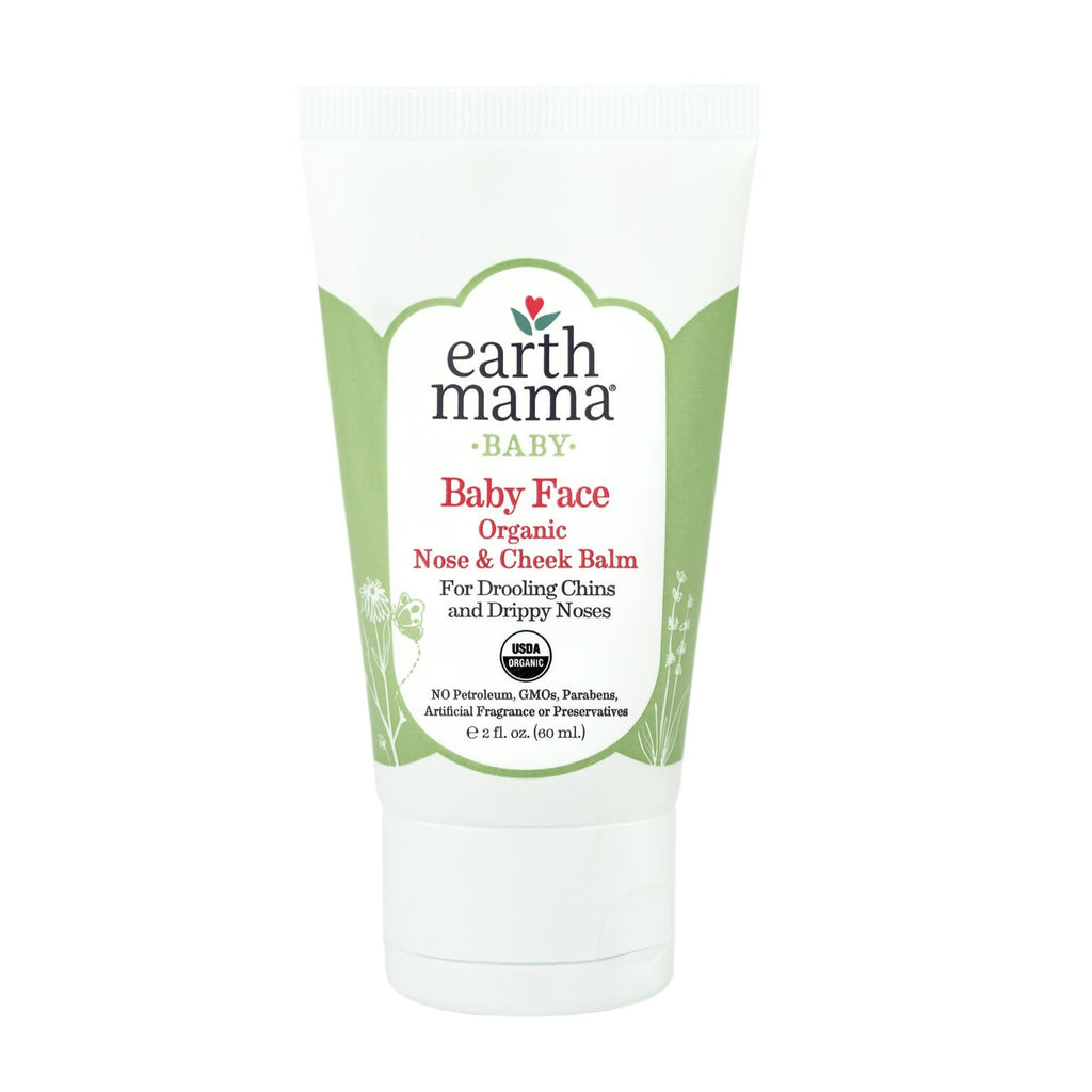 Baby Face Nose + Cheek Balm 2 oz by Earth Mama Organics Earth Mama Organics Bath + Potty