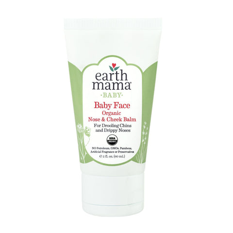 Organic Baby Face Nose + Cheek Balm 2 oz by Earth Mama Angel Baby