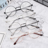 1PC Fashioned Round Frame Reading Glasses