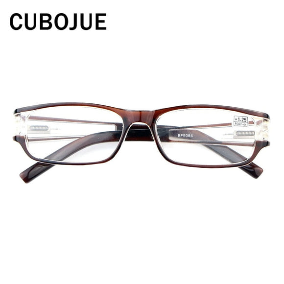 CUBOJUE Reading Glasses Men Women +1.0 1.25 1.5 1.75 2.0 2.25 2.5 2.75 3.0 3.25 3.5 3.75 4.0 Grade Points for Presbyopia Read
