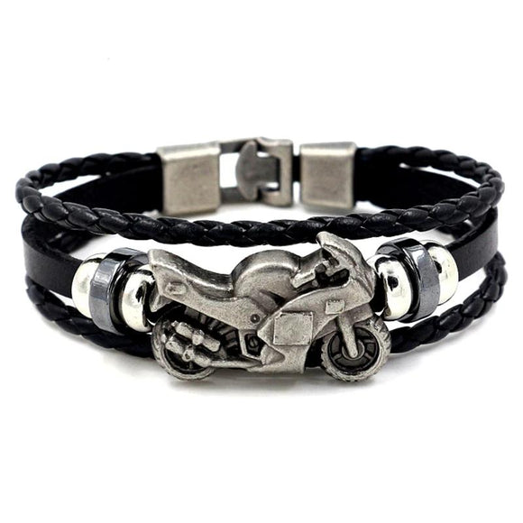 Leather Bracelets --  18 Styles to Choose From