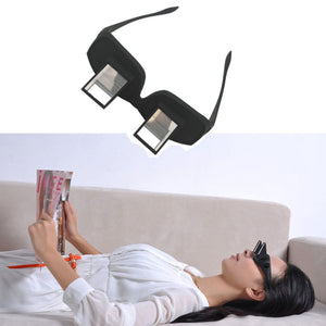 Funny Lazy Periscope Horizontal Reading TV Sit View Glasses On Bed Lie Down Bed Prism Spectacles Newspaper The Lazy Glasses