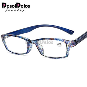 Men Women Reading Glasses Designer Farsighted Vision Glasses For Hyperopia With Spring Hinge Eyeglasses Points+1+1.5+2+2.5+3+3.5