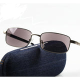 Metal Frame Photochromic Reading Sun Glasses Men Women Presbyopia Eyeglasses Sunglasses Discoloration Diopters 1.0 to +4.0 L2