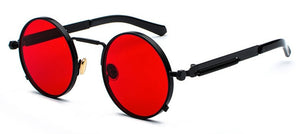 Peekaboo Clear Red Sunglasses For Men