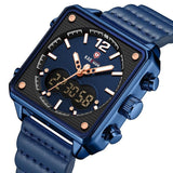 Squared Quartz Wristwatch For Men