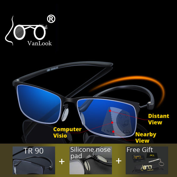 VANLOOK Multifocal Reading Glasses For Men