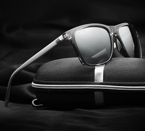 VEITHDIA Retro Vintage Sunglasses For Men