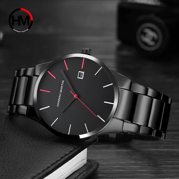 Steel Quartz Wristwatch For Men