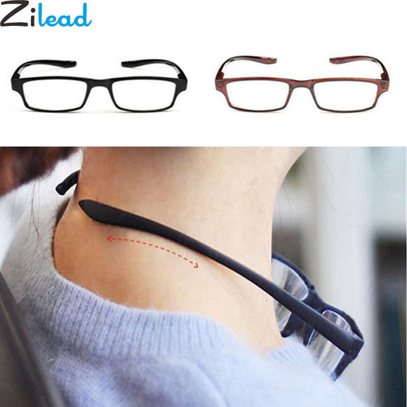 Zilead Comfy Ultralight Halter Reading Glasses Hanging Stretch Women&Men Anti-fatigue HD Presbyopia +1.0+1.5+2.0+2.5+3.0+3.5+4.0
