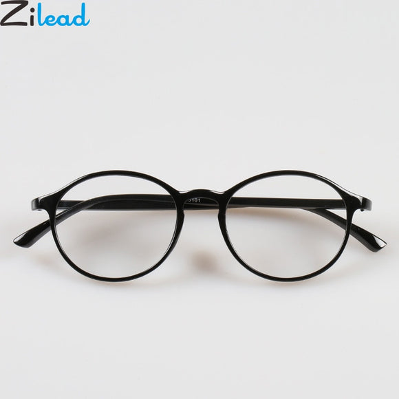 Zilead Retro Ultra Light Round Leopard Reading Glasses Women&Men Eyewear Glasses Presbyopia+1.0+1.5+2.0+2.5+3.0+3.5+4.0