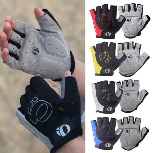 1Pair Half Finger Cycling Gloves -Slip -sweat Gel Bicycle Riding Gloves Shock MTB Road Mountain Bike Sports Gloves