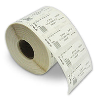 Jewellery Labels Multi-part - White