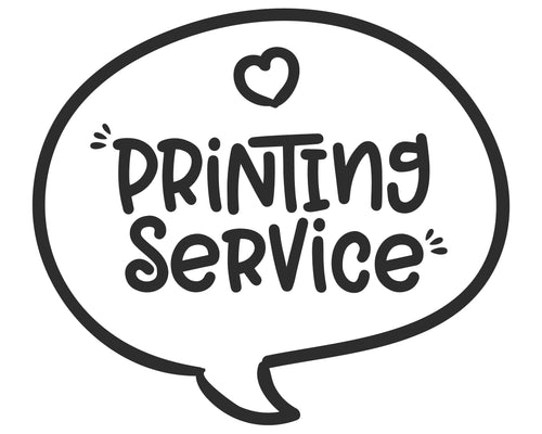 Printing Service for Invitations