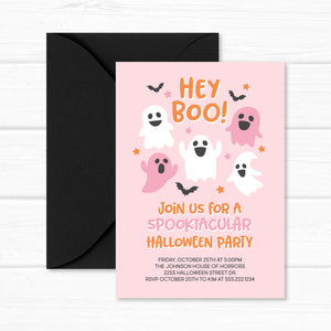 Art Invitation, Paint Rainbow Colors Birthday Party Invite