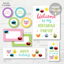 Load image into Gallery viewer, Made to Match Party Decor Items, Printable Custom Matching Items