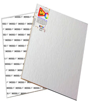 CAB 12x12 Snoogg Canvas Board Panel Double Primed for Painting of All Media Acrylic, Oil,