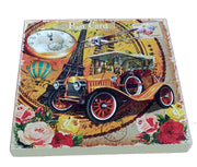 VIN UVP 12 8x8 Inch Snoogg Art Vintage CollectionGessoo Texture.