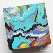 G Box Size : 8x8 inch. Double Primed Gessoo on Wood Panel.    Great Alternative to Canvas Panels.