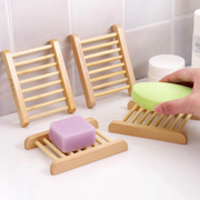 Natural Pine Wood Soap Holder, Waterproof Coating on Pine Wood Very much natural.