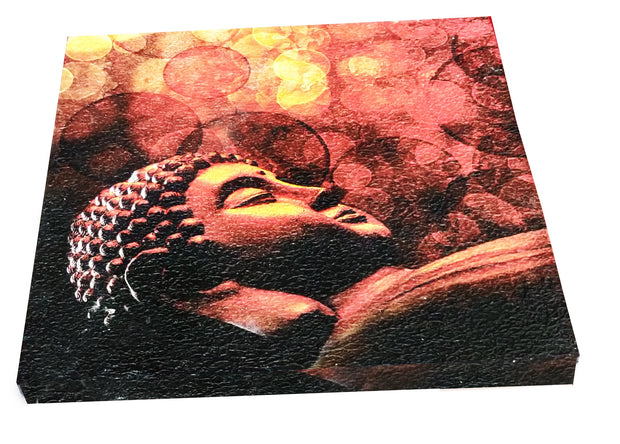 "UVP 208 12x12 & 16x16 Snoogg Art 'Lord Buddha "" Painting Print Art Work. For Home, Living Room"