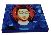 "UVP 209 12x12 & 16x16 Snoogg Art 'Lord Buddha "" Painting Print Art Work. For Home, Living Room"