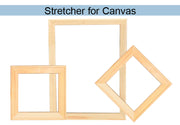 WD Bar Size : 18 x 18 Canvas Stretcher Bar. Frame accessories for Artiest Painting Frame.