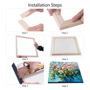 WD Bar Size : 10 x 12 Canvas Stretcher Bar. Frame accessories for Artiest Painting Frame.