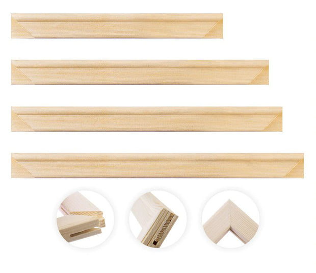 WD Bar Size : 10 x 14 Canvas Stretcher Bar. Frame accessories for Artiest Painting Frame.