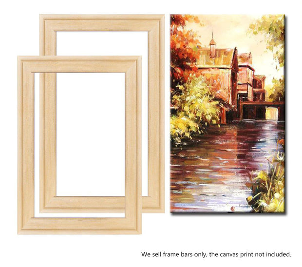 WD Bar Size : 12 x 14 Canvas Stretcher Bar. Frame accessories for Artiest Painting Frame.