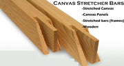 WD-Bar Canvas Stretcher Bar's. Frame accessories for Artiest Painting Frame.