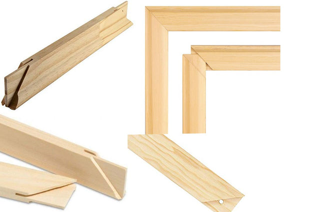 WD Bar Size : 12 x 12 Canvas Stretcher Bar. Frame accessories for Artiest Painting Frame.