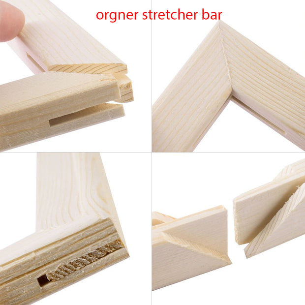 WD Bar Size : 12 x 18 Canvas Stretcher Bar. Frame accessories for Artiest Painting Frame.