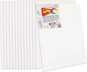 Snoogg 20x20 Pack of 1 Painting Canvas Panel Board  Primed Studio Artist Quality Acid Free