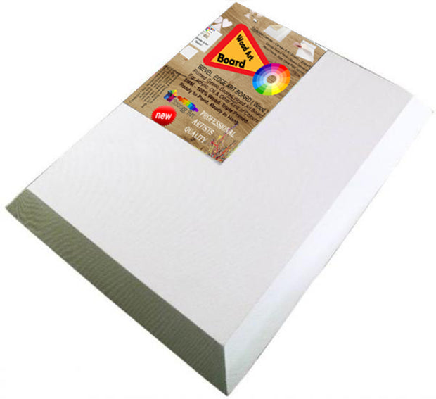 Deal on BEVEL Edge Stretched Canvas Double Primed  for Acrylic & Oil Paint
