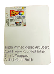MAB EAS   Mini Art Board with Easel Size : 3x3, 4x4, 5x5 and 4x6  Inch.