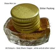 Snoogg Glitter Powder for Arts & Crafts, Combo pack. of Gold , Black, Silver, Copper