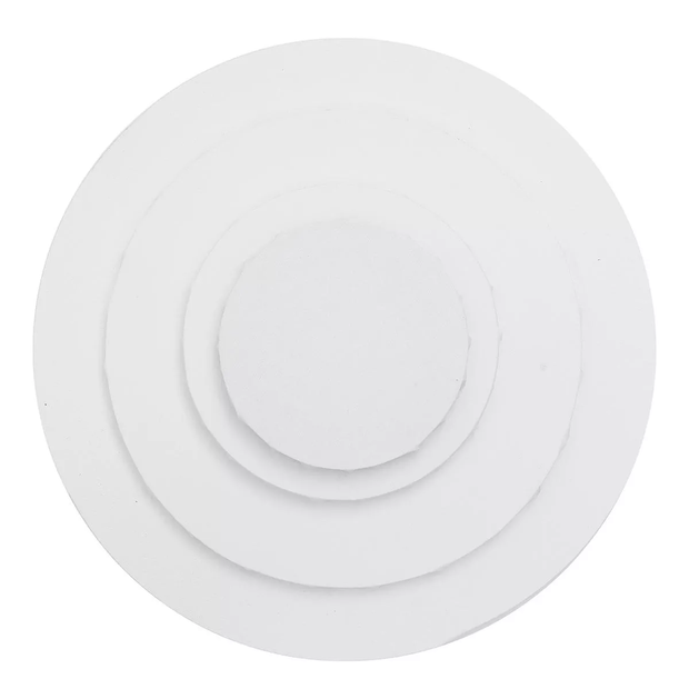 Deal on Round Shaped Stretched Canvas Double Primed  for Acrylic & Oil Paint