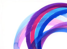 Load image into Gallery viewer, Rainbow (purple, pink, blue) III