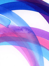 Load image into Gallery viewer, Rainbow (purple, pink, blue) IV