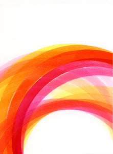 Rainbow (pink, red, orange) II