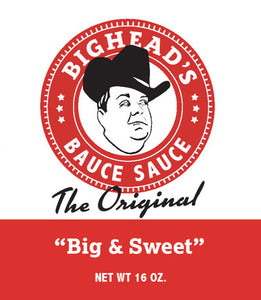 BigHead's Bauce Sauce - The Original Big & Sweet