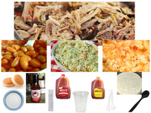 Load image into Gallery viewer, BigHead's BBQ Pork Meal (6 - 8 Servings)