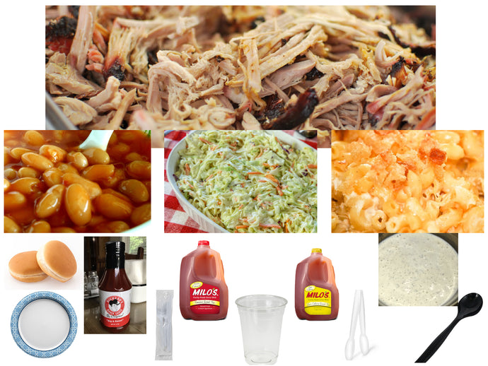 BigHead's BBQ Pork Meal (6 - 8 Servings)