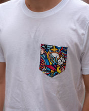 Load image into Gallery viewer, REVENGE Pocket Tee in White