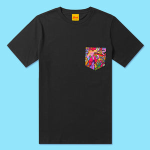 DREAM Pocket Tee in Black