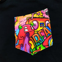 Load image into Gallery viewer, DREAM Pocket Tee in Black