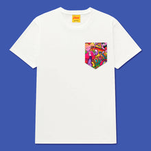 Load image into Gallery viewer, DREAM Pocket Tee in White