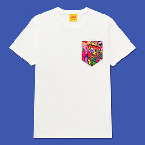 DREAM Pocket Tee in White